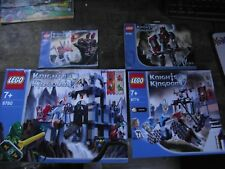 4 X LEGO  !! INSTRUCTIONS ONLY !! FOR  KNIGHTS KINGDOM 8779, 8780,8795, 8837