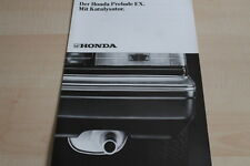 115028) Honda Prelude EX Kat. Prospekt 198?