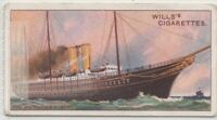 1899 HMY Victoria And Albert Royal Steam Engine Yacht 100+ Y/O Ad Trade Card