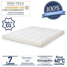 Látex natural Topper látex premium matratzenschoner 8 cm boxspringbett eco-Tex Lux