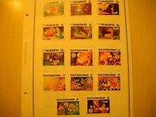 14 Foreign Country Disney Stamps