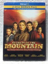 Secrets of the Mountain DVD CD Paige Turco Barry Bostwick Kayla Carlson BONUS CD