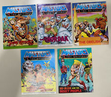 MOTU Weapons, Figure Comic Lot Masters of the Universe He-Man Snake Attack!