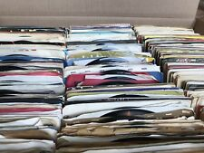 Lot of 100 Random VG+ Quality 45 rpm Vinyl Records! **FREE 45s** (Read Below!)