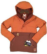 NEW $300 Burton Service Anorak Jacket!  Dryride 2 L  & Thermolite Insulation