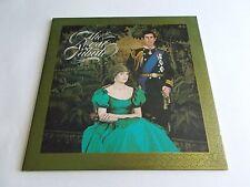 The Royal Tribute Various LP 1981 Columbia Double Princess Diana Vinyl Record