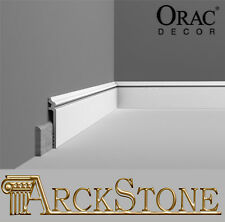 Cover Skirting boards Copribattiscopa Orac Decor SX186 White Base Furniture