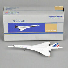 Concorde 1:400 Diecast Air France 1976-2003 Aircraft Plane Model Toys Collection