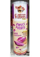 Potato Crisps Mister Potato Sweet Purple Taste Food Snack Original Flavour 100g.