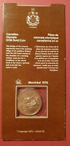 Canada Olympic 1976 $100 Gold Coin