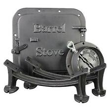 US Stove BSK1000 Cast Iron Barrel Stove Kit New