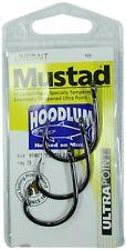 Mustad Hoodlum Heavy Duty Livebait Hook - Size 3/0 - 4X Strong Forged