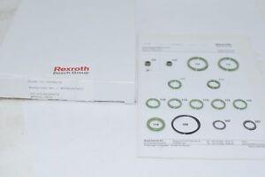 NEW Bosch Rexroth Hydraulics SEAL KIT WMM 10.3X/V R900357602