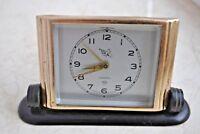 Аntique Soviet alarm clock Slava with a pioneer. Working. USSR lot