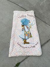 holly hobbie vintage sleeping bag