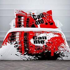 Parure de lit coton 220x240 cm Today Call Me - Livraison gratuite FR