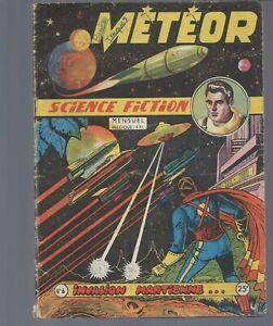 meteor lot de 8 n° Editions artima année 1953