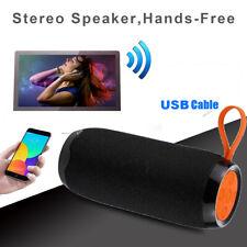 LOUD Bluetooth Speaker Wireless Waterproof Outdoor Stereo Bass USB/TF MP3 Player