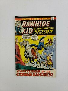 Rawhide Kid #114 Marvel Comics Aug 1973 Captured By The Commanches! Bronze Age