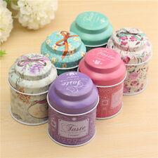 Retro England Storage Box Storage Tin Cans Coffee Cans Tea Caddy Sugar Bowl Jar