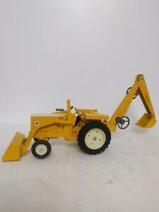 Ertl International 3444 Backhoe Farm Tractor Loader Repaint