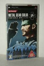 METAL GEAR SOLID PORTABLE OPS PLUS USATO AS NEW SONY PSP ED JAPAN VBC 51116
