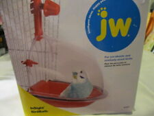 JW In Sight Bird Bath For Parakeets & Similar Sm sized Birds Fits Sm & Med Cages