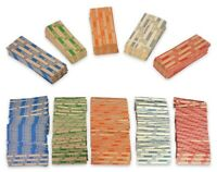 1,000 Flat Coin Wrappers 200 Of Each Cent Nickel Dime Quarter Small Dollar