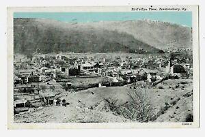 Bird's-Eye View, Prestonsburg, Kentucky, postmarked 1949