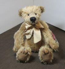 Russ Vintage Edition 100% Mohair Bear Limited Ed. Bentley 7726/25,000