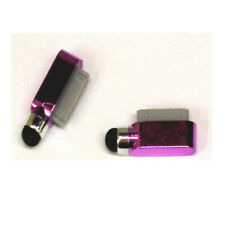 Dust Cover Dock Charge Port Stylus For iPad 2 3 iPhone 4 4G 4S 3G 3Gs iPod Pink