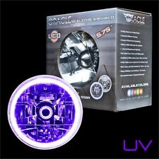 "ORACLE 5.75"" Sealed Beam Single Headlight + ORACLE Pre-Installed UV SMD Halo"