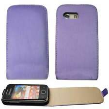 caseroxx Flip Cover for Samsung S5360 Galaxy Y in purple made of faux leather