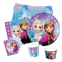 Disney FROZEN Northern Lights Party Range (Birthday/Plates/Napkins/Banner)