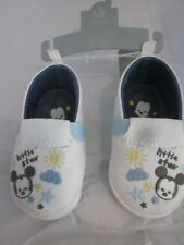 WDW DISNEY BABY MICKEY MOUSE LITTLE STAR SIZE 12 - 18 MONTHS CRIB SHOES NEW
