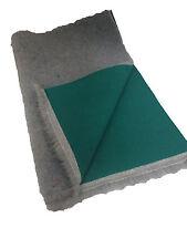 Large 1m x 1.5m  Grey Green back Vet bed VETBED Drybed Dog Bedding whelping dog