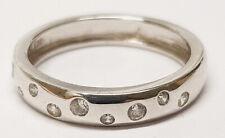 Ö.338 Ring 925er Silber rhodiniert Zirkonia weiß RW17