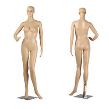 Full Body Dummy Mannequin Dressmaker Shop Window Display Retail Rack Female