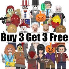 Buy 2 Get 1 Free UK - Horror Movie Film Halloween Custom MiniFigure Kids Gift