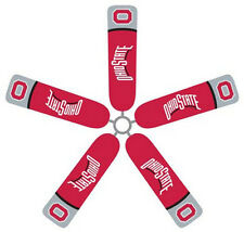 Ceiling Fan Blade FABRIC Covers OHIO STATE UNIVERSITY 5pcs home/dorm BUCKEYES