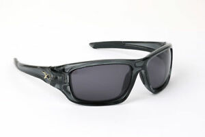 Fox Matrix Polarised Sunglasses Wraps Trans Black Grey Lens NEW Carp Fishing