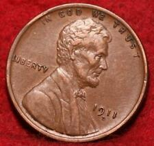 1911-D Denver Mint Copper Lincoln Wheat Cent