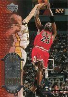 2000 UPPER DECK MICHAEL JORDAN BULLS NBA LEGENDS #1 STATS BASKETBALL CARD