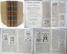 Encyclopédie d'Agriculture Pratique illustrée / 3 Tomes / 1838-39
