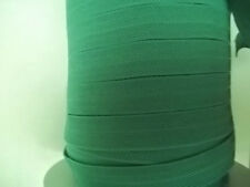 Foldover Elastic Agate GREEN Chevron 5 yds. Baby Headbands Lingerie Doll clothes