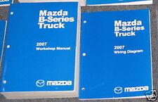 2007 Mazda B Series Truck Service Workshop Manual Set