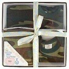 Rothco 6995 Infant Gift Set - Woodland Camo Body Suit-Bib- Crib Cap