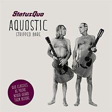 STATUS QUO - AQUOSTIC (STRIPPED BARE)  CD NEU