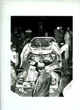 Sandro Munari Alitalia Lancia Stratos HF Rally Rac 1978 Firmado fotografía 1