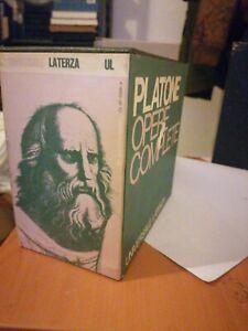 PLATONE, OPERE COMPLETE - VOLUMI 9 - EINAUDI - 1971/75